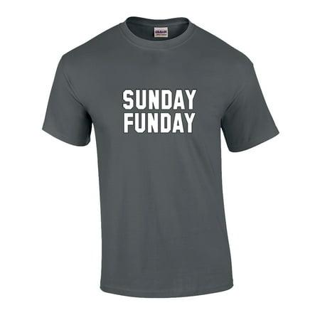Funny Sunday Funday Adult Unisex Short Sleeve
