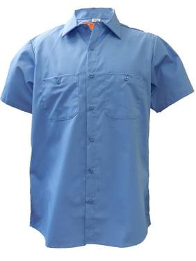 Solar 1 Clothing Industrial Short Sleeve Work Shirt MS24