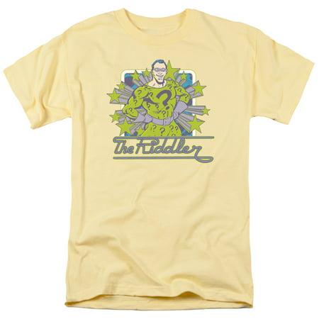 Trevco DC RIDDLER STARS Banana Adult T-Shirt - Adult Banana Suit