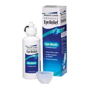Bausch & lomb eye wash, 4 oz. part no. r25953 (1/ea) Bausch And Lomb Eye Wash