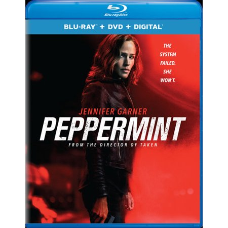 Peppermint (Blu-ray + DVD + Digital - Halloween 2 Remake Blu Ray