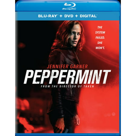 Peppermint (Blu-ray + DVD + Digital Copy)