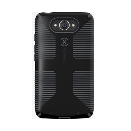Refurbished - Speck CandyShell Grip Case for Motorola Droid Turbo 1st Gen (Black/Slate (Gen Grip)