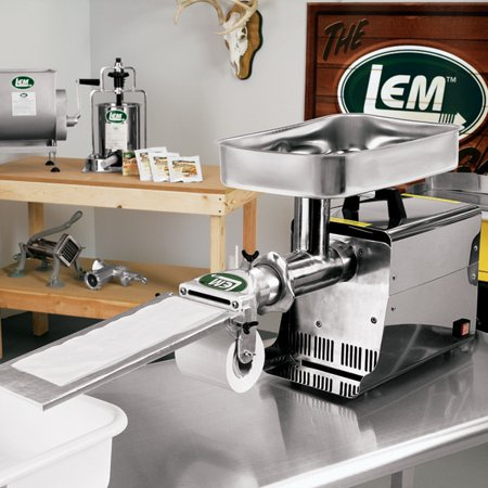 LEM #8 Patty Maker Attachment for Meat Grinders ()