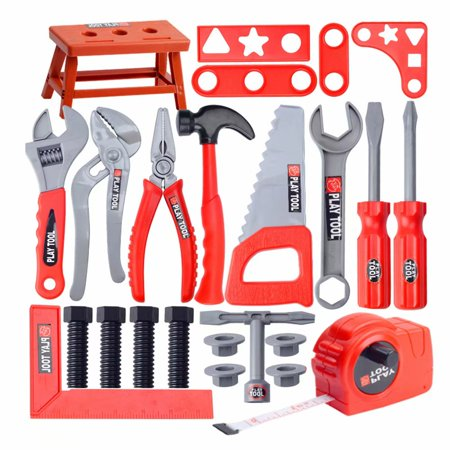 a0bca06a0 Children's Toolbox Set Simulation Repair Tool Drill Screwdriver Repair Kit  House play Toys Tool Set Puzzle Toy Set for Boy and Girl - Walmart.com