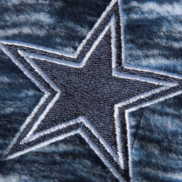 Dallas Cowboys Womens Space Dyed Look Micro Fleece Full Zip Jacket by NFL