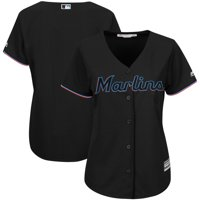 Product Image Miami Marlins Majestic Women s Alternate Team Cool Base Jersey  - Black d59442410