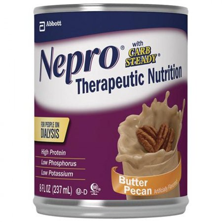 Nepro Ready To Drink With Carb Steady 425 Cal 8Oz Butter Pecan   1 Can