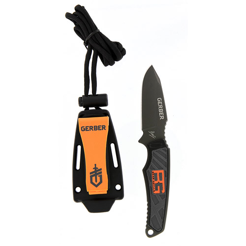 Gerber Bear Grylls Ultra-Compact Fixed Blade with Hard Sheath