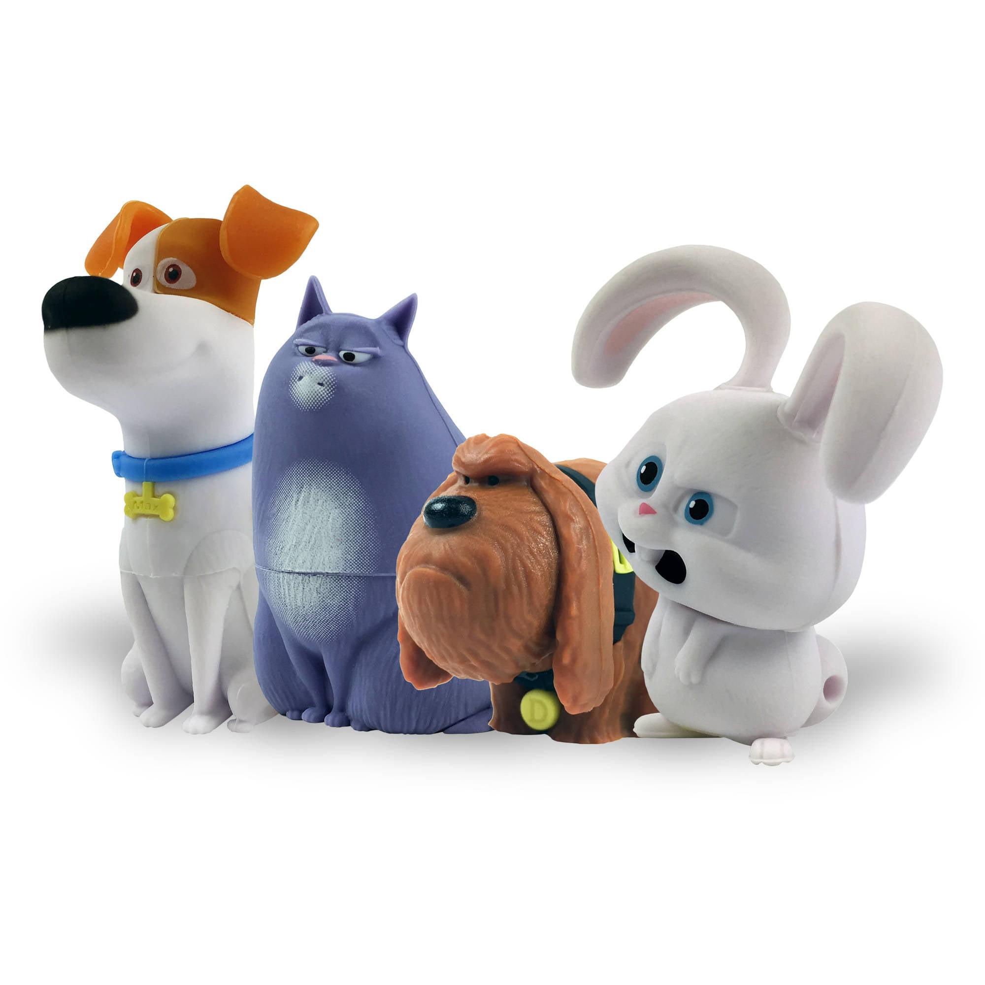 Secret Life Of Pets 4 Pack Character Assortment 16gb Usb Flash Drive Walmart Com Walmart Com