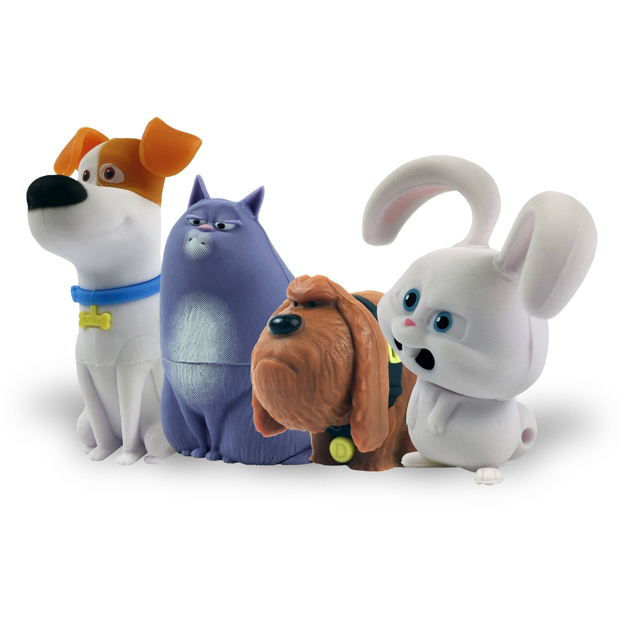 Secret Life of Pets, 4-Pack Character Assortment, 16GB USB Flash Drive