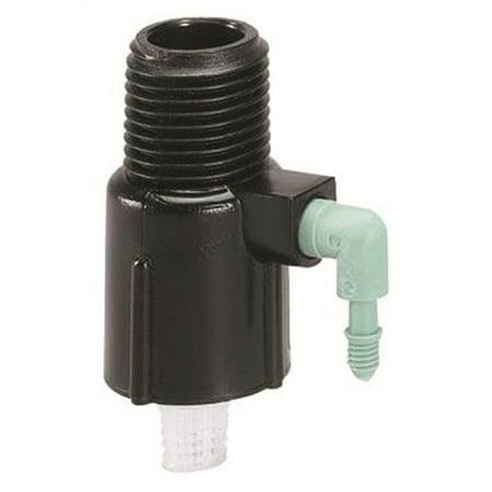 - Orbit 67050 Shrub Head Watering Manifold, Barb, 80 psi Pressure Rating, 1/2 in Inlet, 80 psi, 1-1/4 in L, Plastic