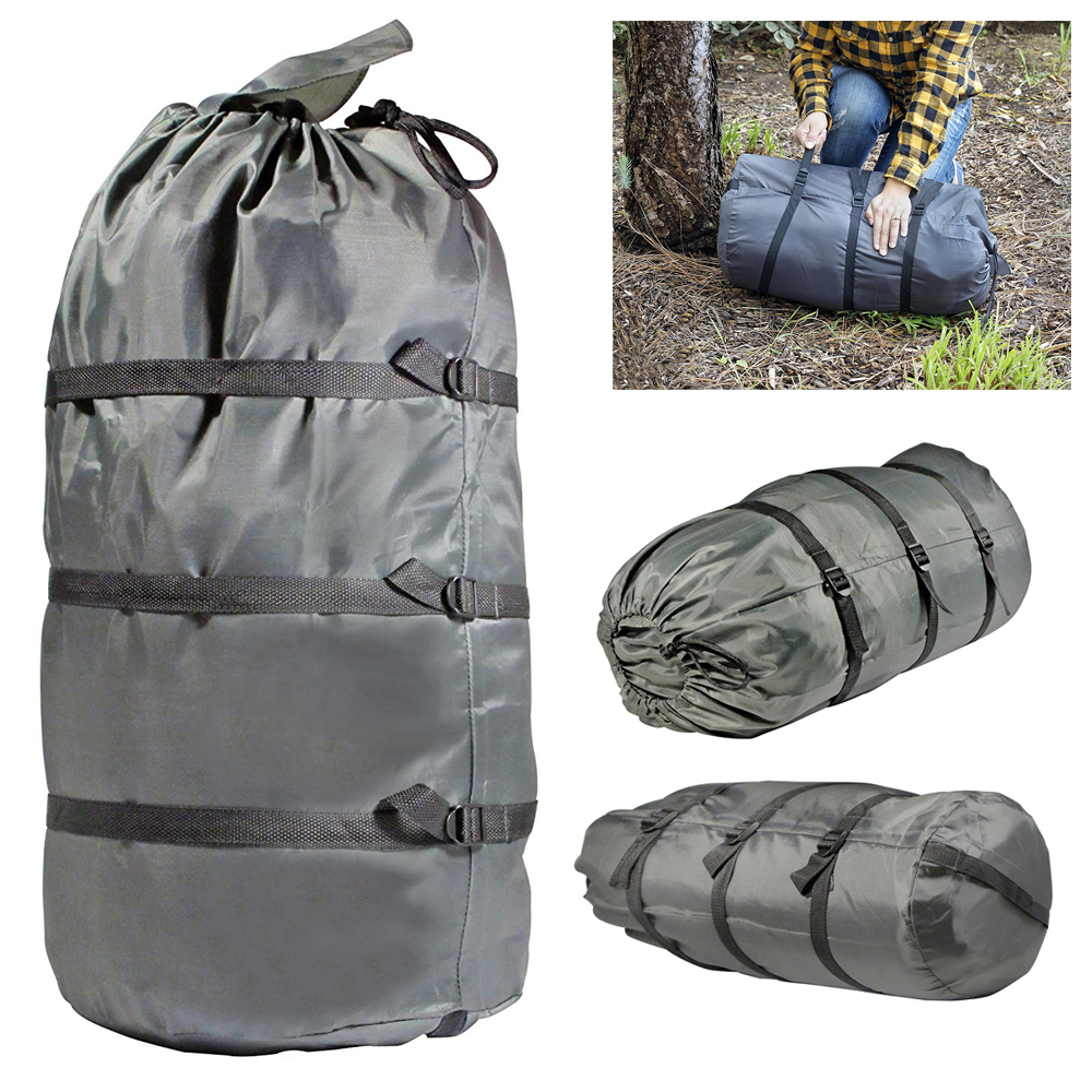 Waterproof Compression Sack Sleeping Bag Cover Pouch Clothing For Outdoor US