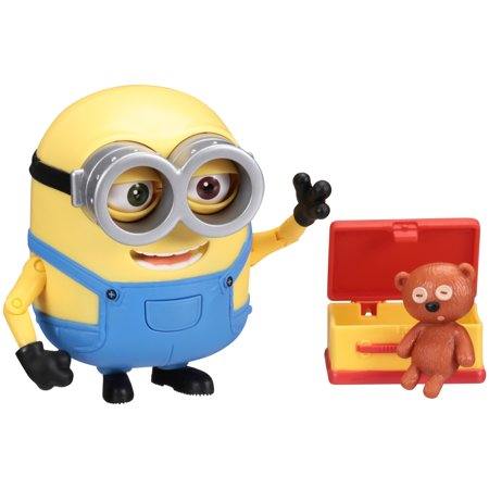 Despicable Me Minion Made™ Minion Bob with Teddy Bear Figure 3 pc Carded Pack](Despicable Me Minion Toys)