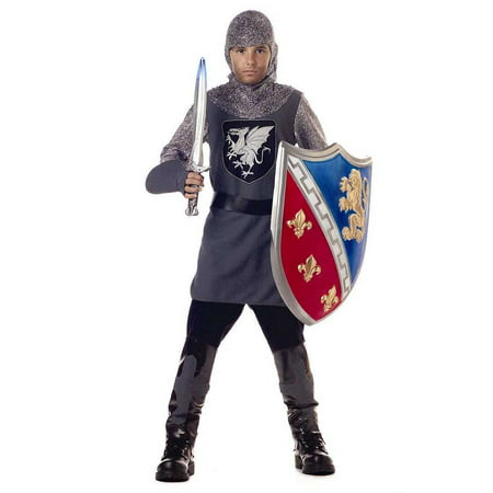 Valiant Knight Child Halloween Costume - Childrens Knight Costume