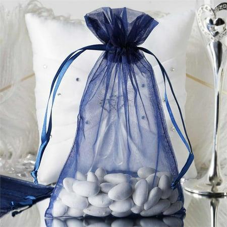 ... pcs 6x9 inch Organza Favor Bags - Wedding Party Favors - Walmart.com