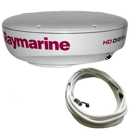 Bennett Dvd Raymarine Radar - RAYMARINE RD424HD 4KW DIGITAL RADAR WITH 10M RAYNET CABLE