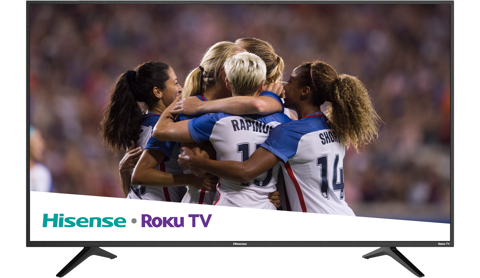 "Hisense 65"" 4K LED Roku UHDTV"