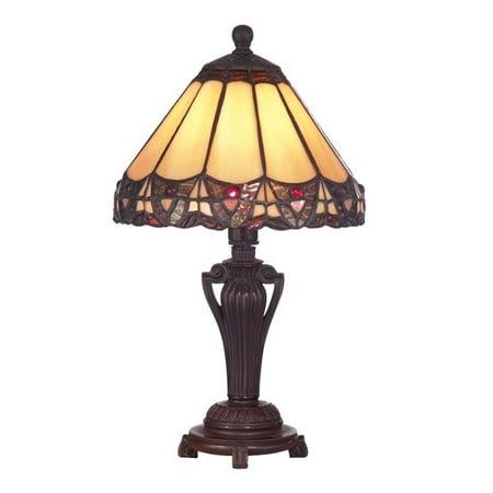 Dale Tiffany Peacock - Dale Tiffany Peacock Accent Lamp