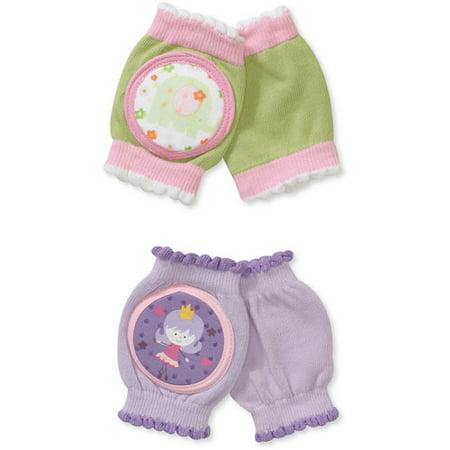 Skidders Baby Girls Knee Pad 2 Pack Walmart Com