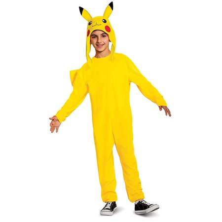 Pikachu In A Dress (Kids Pikachu Deluxe Costume)