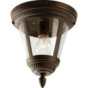 "Westport Collection One-Light 9-1/8"" Close-to-Ceiling"