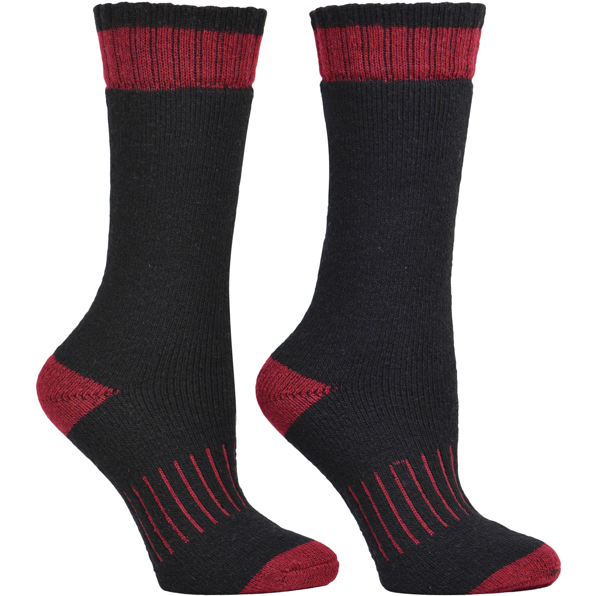 Kodiak Women's Thermal Crew Socks - 2 Pair