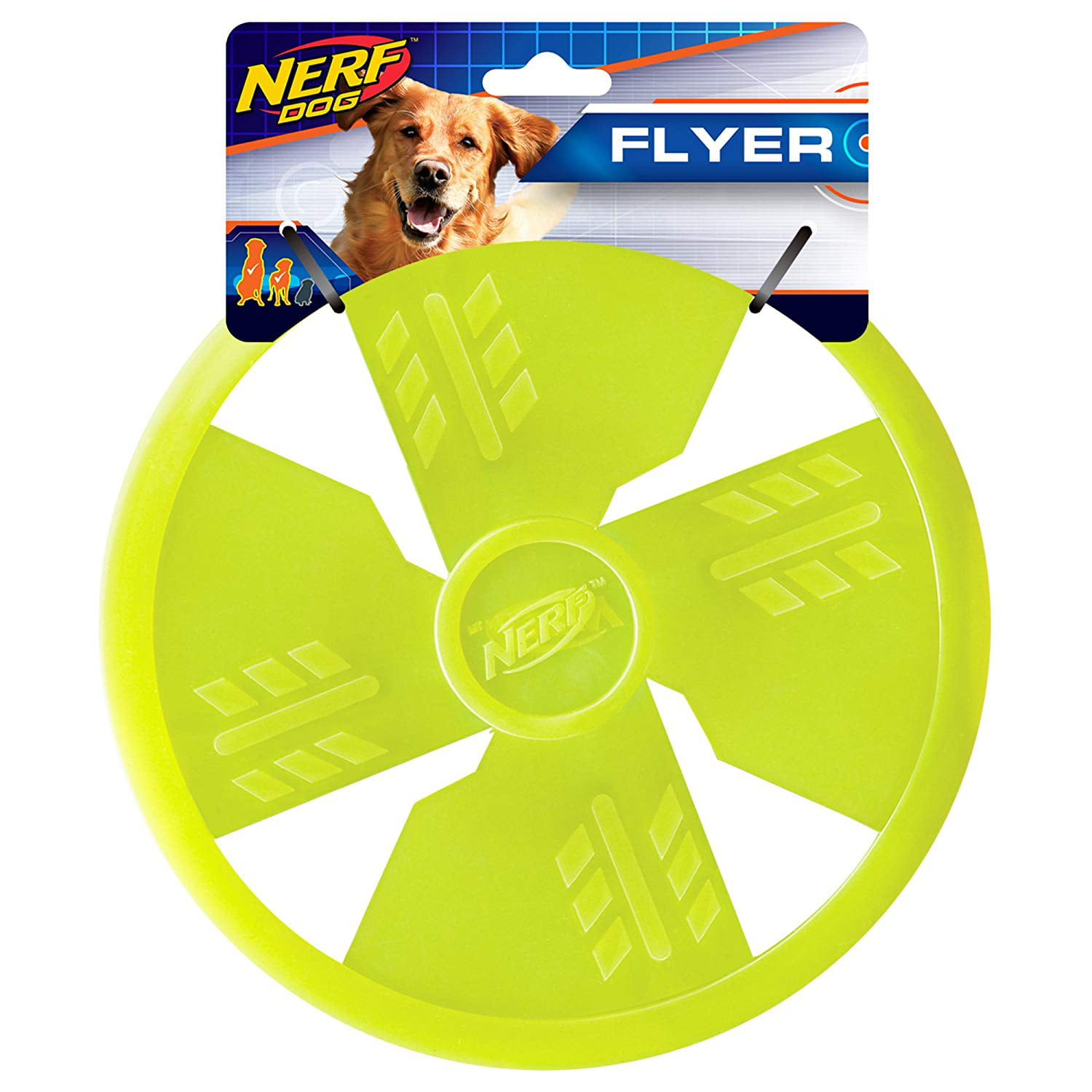 Tpr Float Flyer Flying Disc Dog Toy Large Green Floats