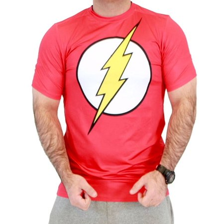 The Flash Performance Athletic Adult T-Shirt (Adult Flash)