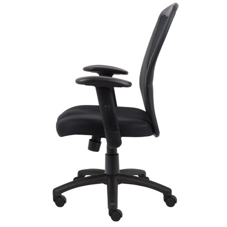 Boss Office Products Black Budget Task Chair