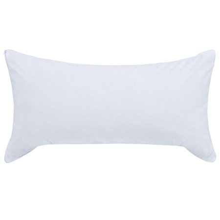 Mainstays Memory Foam Cluster Pillow with Cover, 1 Each