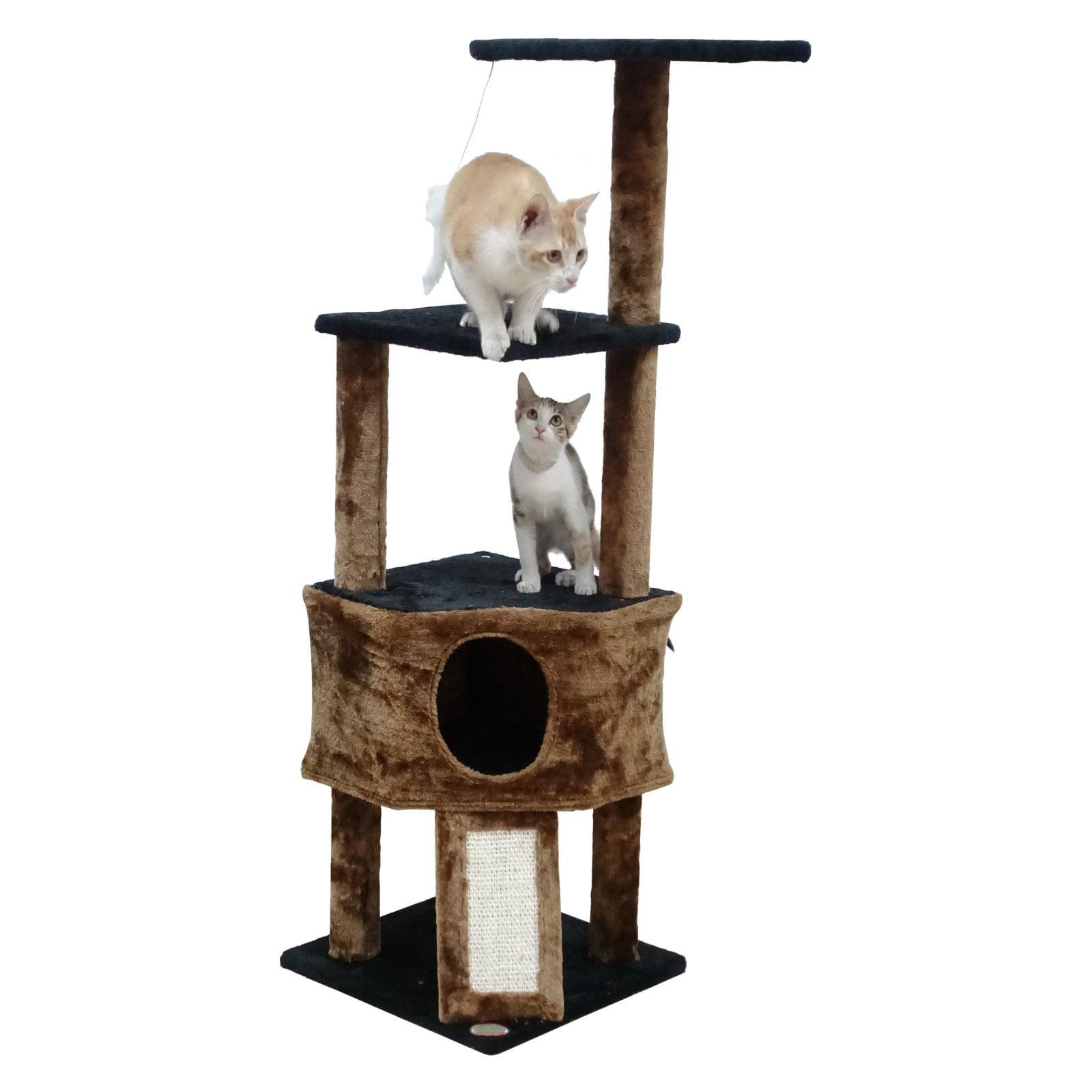 Go Pet Club 46 in. Cat Tree Condo by Overstock