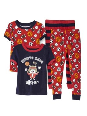 13fd8f66e Product Image Joe Boxer Infant   Toddler Boys 2-Pack Sports Themed Pajama  Sleepwear Sets