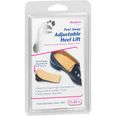 PediFix Adjust-A-Heel Lift, Medium 1 ea