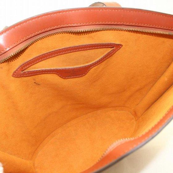 fb2f3e9c6e82 Louis Vuitton - PRE-OWNED Saint Jacques Epi Zip Tote 869928 Brown Leather  Shoulder Bag - Walmart.com
