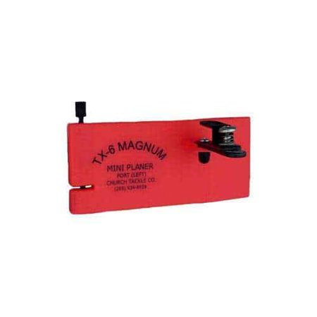 church tackle magnum mini starboard side planer board