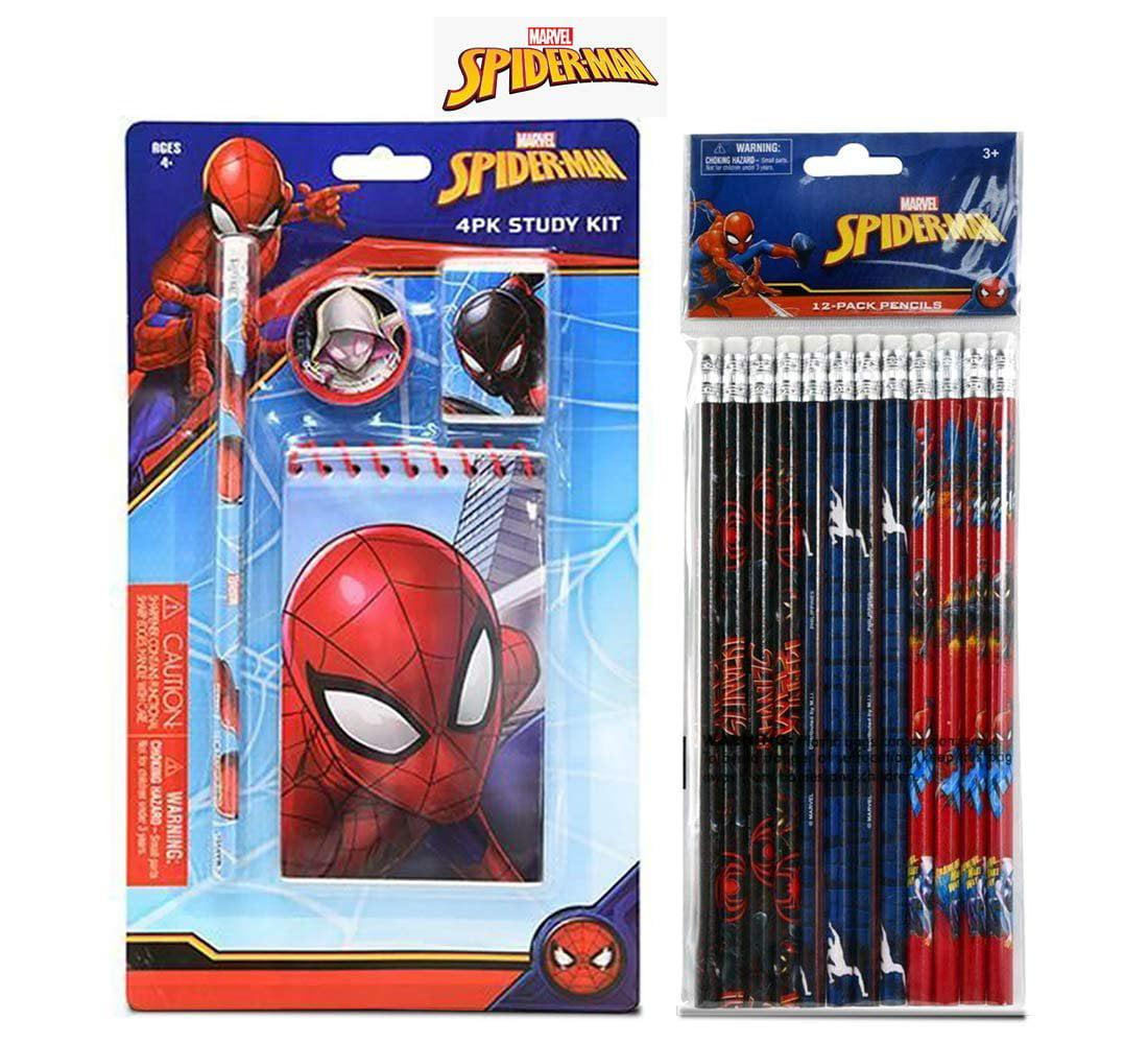 2 Pencil 12 Pack  collectible School supplies Marvel Spider-man No