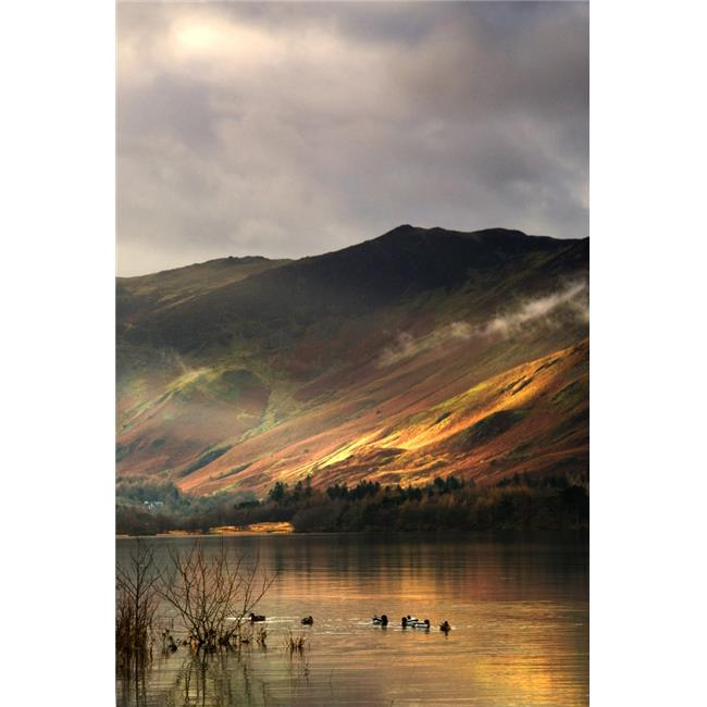 Lake in Cumbria England Poster Print by John Short, 11 x 17 - image 1 of 1