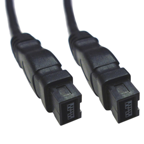 Professional Cable FireWire 800 1394b 9-Pin to 9-Pin Cable, 6'
