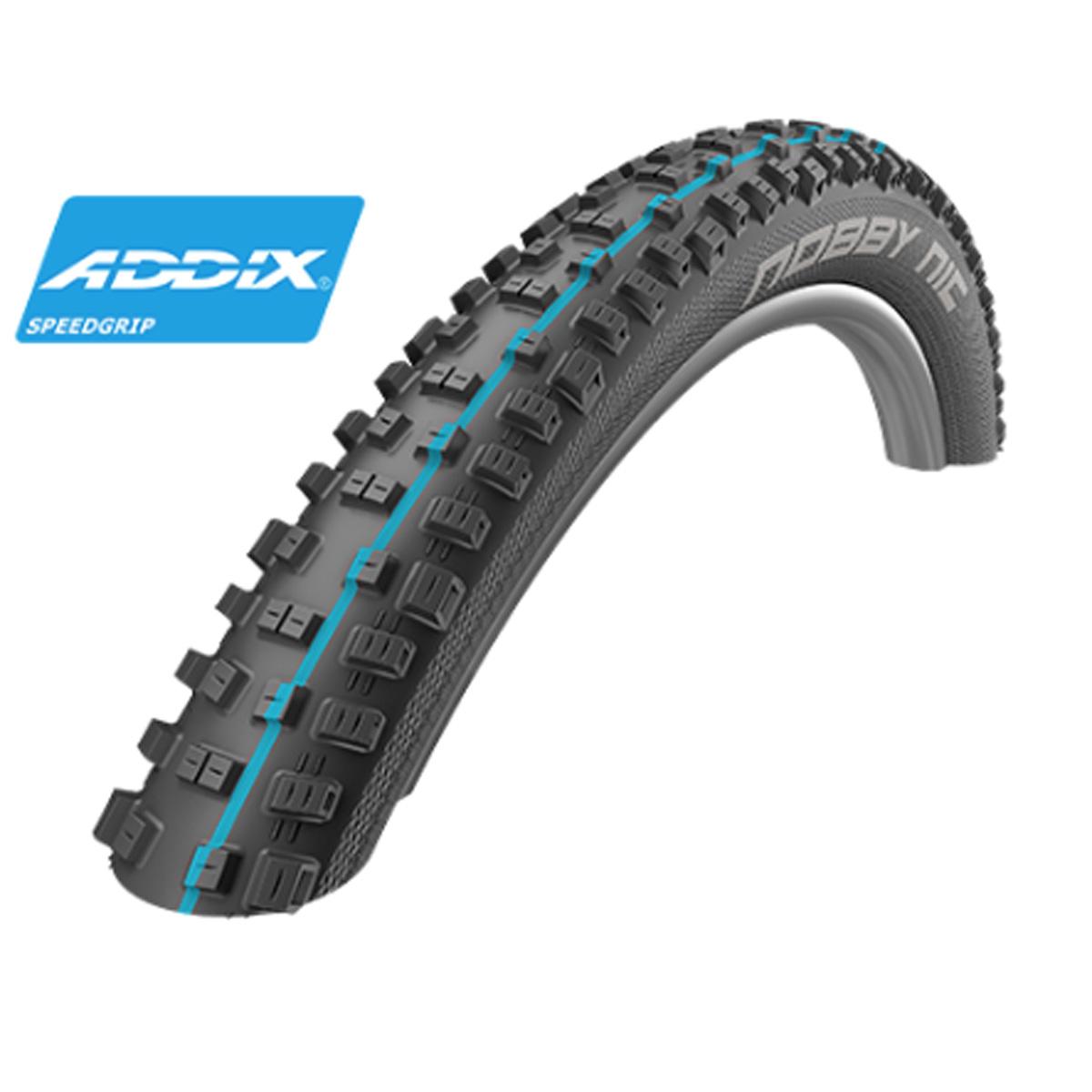 Schwalbe Nobby Nic HS 463 Addix Speedgrip SnakeSkin TL Easy Mountain Bicycle Tire - Folding Bead