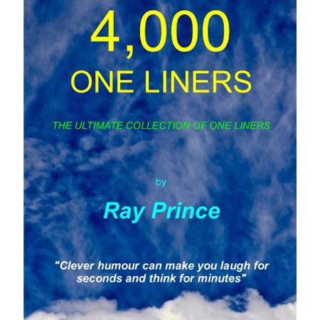 4,000 One Liners - eBook