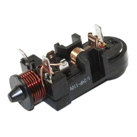 Supplying Demand Refrigerator Compressor L Relay 1/3 HP 110 (One Relay)