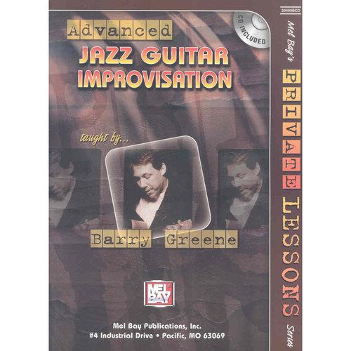 Advanced Jazz Guitar Improvisation Book/CD Set
