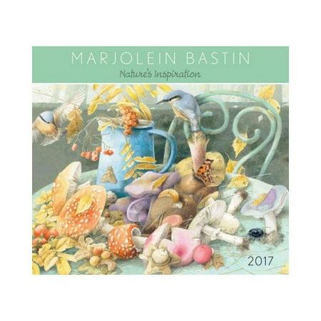 Marjolein Bastin 2017 Calendar: Nature's Inspiration