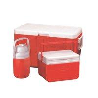 Coleman 48-Quart Cooler with 5-Quart Cooler, 1/3-Gallon Jug