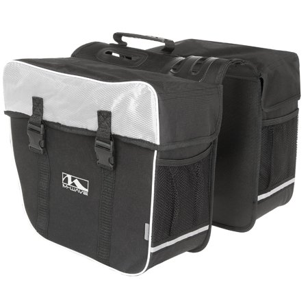 Traveller Pannier - M-Wave  Amsterdam Double Bicycle Pannier Bag