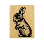 Inkadinkado Wood Stamp Baby Bunny