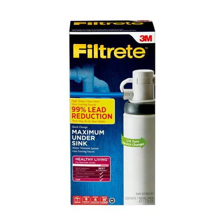 Filtrete Maximum Under-Sink Water Filtration System,