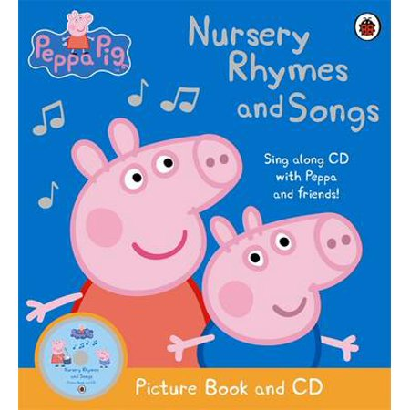 Peppa Pig - Nursery Rhymes and Songs: Picture Book and CD - Children's Halloween Songs Rhymes