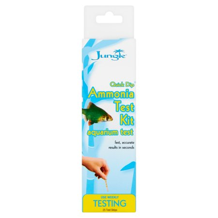Api Nitrate Test Kit (Jungle Quick Drip Ammonia Aquarium Test Kit, 25)